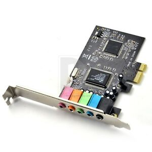 32-bit-PCI-Express-x1-PCI-E-5-1ch-6channels-3D-96KHz-Audio-Digital-Sound-Card