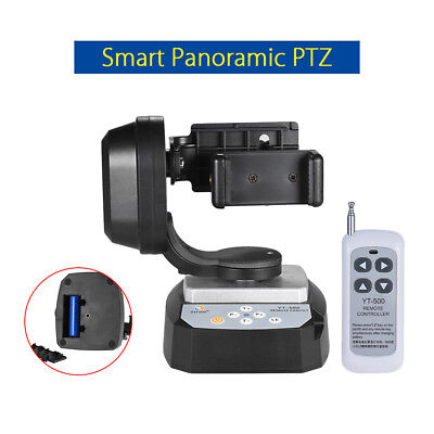 YT-500 Remote Restrain Pan Tilt Auto Rotating Superintendent PTZ Stand For Samsung S9 NOTE8