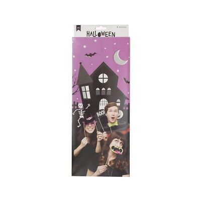 American Crafts Halloween Photo Booth Backdrop - Party Favors Supply Materials - Halloween Photo Booth Backdrop
