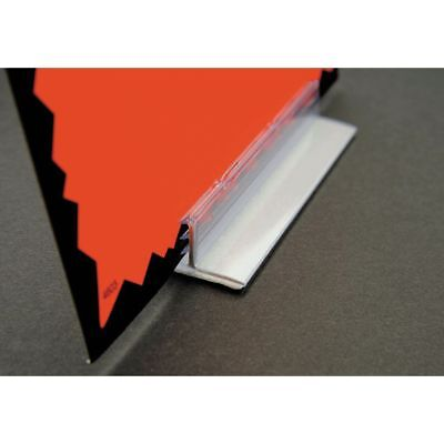 adhesive sign holder countertop 3 w x