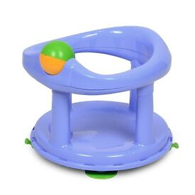 NEW unused boxed and sealed baby bath swivel seat