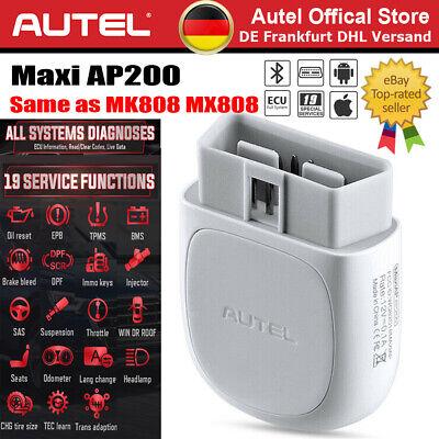 Gebraucht, 2020 Autel AP200 MK808 Pro OBD2 Diagnosegerät für 60 Fahrzeugmarken ALLE SYSTEM gebraucht kaufen  Ginsheim-Gustavsburg