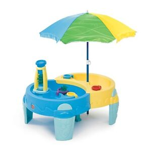 Step2 - Shady Oasis Sand & Water Play Table