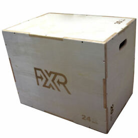 Details about FXR SPORTS 23KG HEAVY WOODEN PREMIUM PLYO MMA PLYOMETRIC JUMP BOX CROSSFIT WOOD