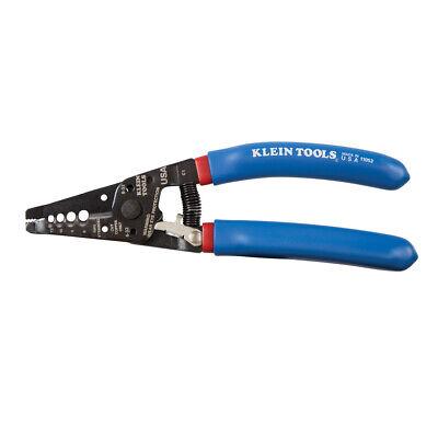 Klein Tools 11053 Klein Tools-kurve Wire Strippercutter 6 - 12 Ga Blue