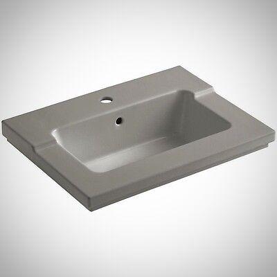 KOHLER K-2979-1-K4 Tresham 25-7/16 in. Vitreous China Single Basin Vanity - Kohler Countertop Lavatory