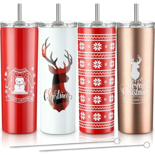 4 Pack Classic Tumbler Stainless Steel Double-Insulated 20 o