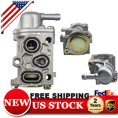 Fits Honda Accord CRV Prelude IACV Idle Air Control Bypass Valve Assy FITV (Idle Air Bypass)