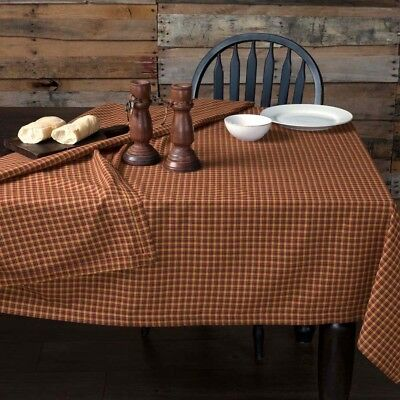 "Patriotic Patch Plaid Table Cloth by VHC Brands - 60"" x 80"" Tablecloth"