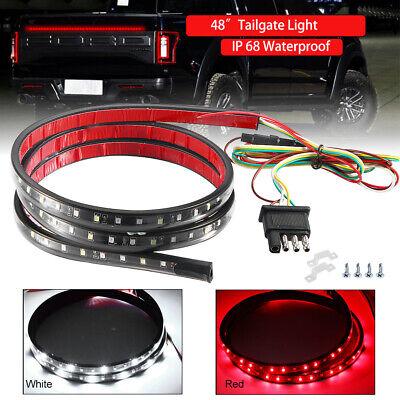 """48"""" Truck LED Tailgate Light Strip Bar Brake Light for Chevy Honda Ram Pickup US"""