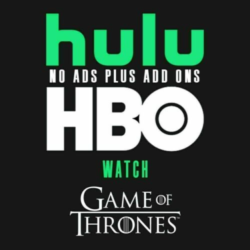 Hulu Premium + HBO + No Ads + | 2 Years | 5 Sec Delivery