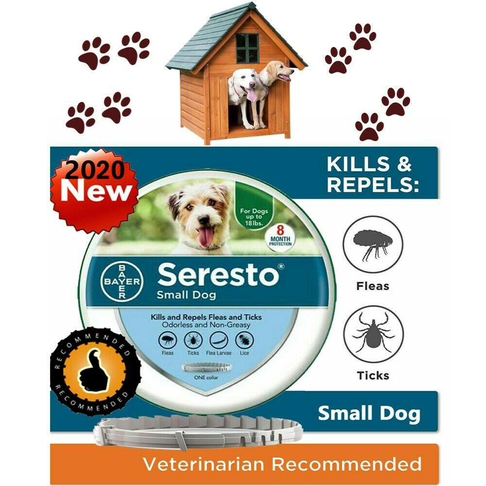 Bayer Seresto Flea and Tick Collar for Small Dog Up to 18lbs