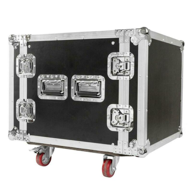"New 10U Professional 19"" Space Rack Case DJ Equipment Cabinet"