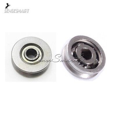 110pcs 3x12x4 3x10x3mm V623 V623zz V-groove Skateboard Miniature Bearing