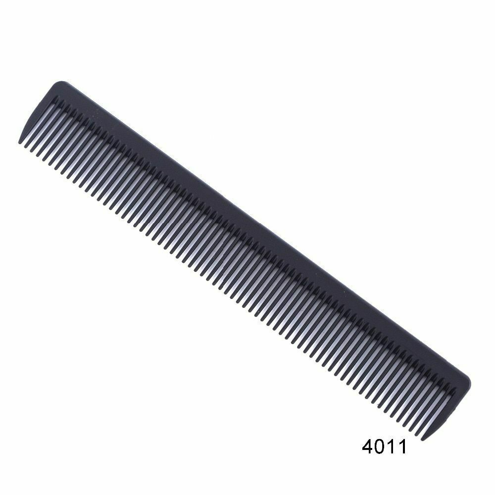 Black Hair Combs Professional Hairdressing Tail Comb Carbon