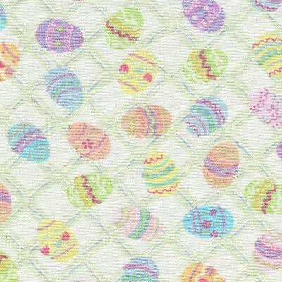 Longaberger Basket Fabric Garter ONLY Medium Pastel Color Easter Egg New In Bag