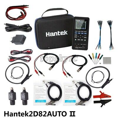 Hantek2d82auto Ii 4-in-1 Auto Diagnostic Oscilloscope Multimeter Signal Source