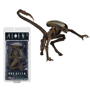 NECA 7'' Aliens Series 3 Wave Alien Brown Variant Xenomorph Dog Action Figure UK