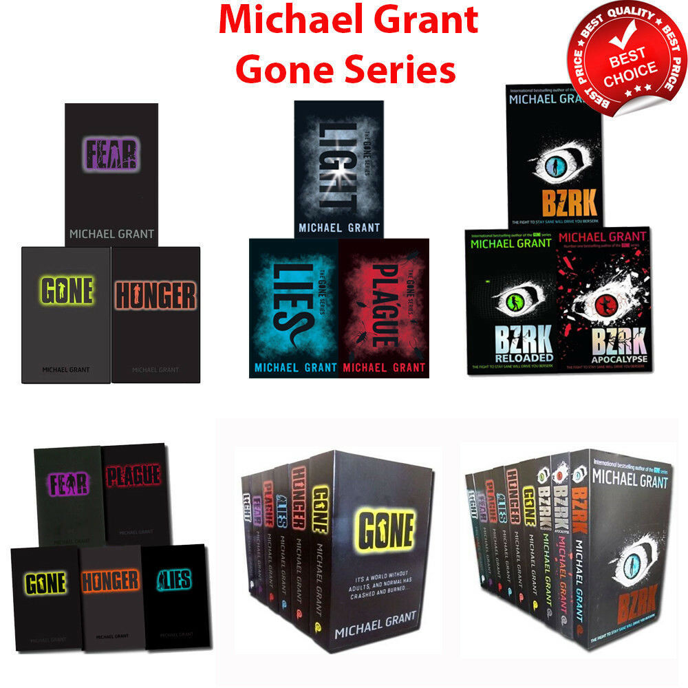 Gone Series Collection Michael Grant Books Set BZRK Pack NEW