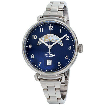 Shinola The Canfield Quartz Movement Mother of Pearl Dial Ladies Watch 20089880