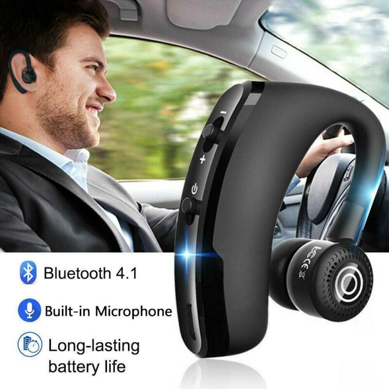 business wireless bluetooth headsets with microphone earphon