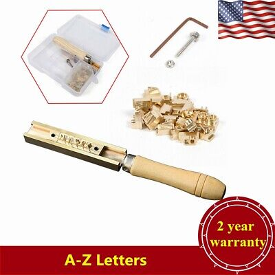 A-z Letters Logo Hot Foil Stamping Machine Pvc Card Leather Bronzing Arial Font