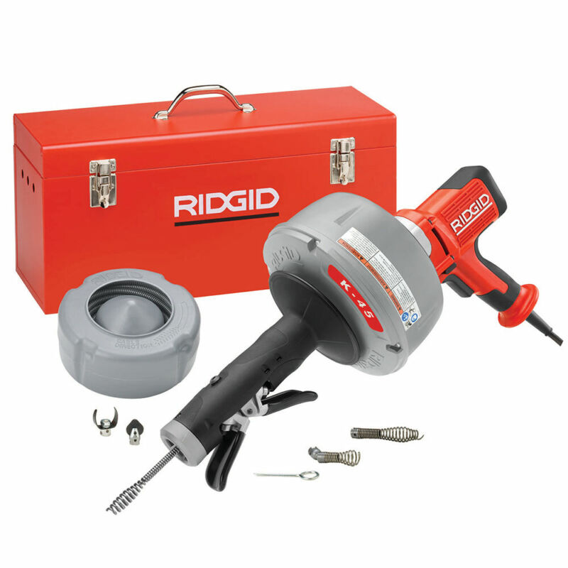 """Ridgid 35473 K-45 Drain Cleaner C-1IC Cable w/Bulb Auger (5/16"""" x 25"""