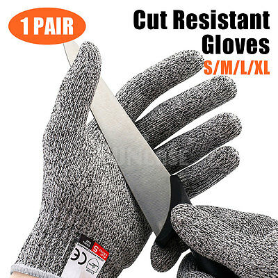 Cut Resistant Butcher Gloves Anti Cutting Safety For Kitchen Outdoor Explore Sml