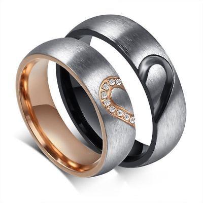 Design Valentines Day Gift Couple Ring Finger Ring Diamond Ring Wedding Rings