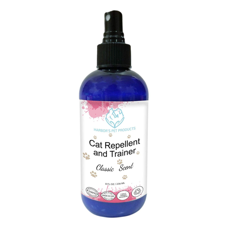 Harbor's Cat Repellent and Trainer - Cat Repellent Spray Ind