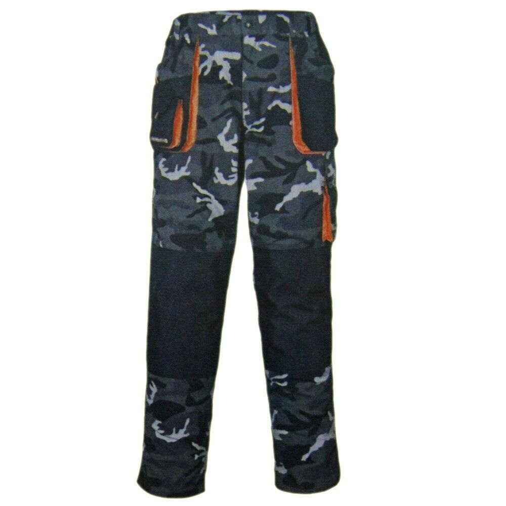Angelhose Fox Collection Black Orange LW Jogger Jogginghose Angelbekleidung