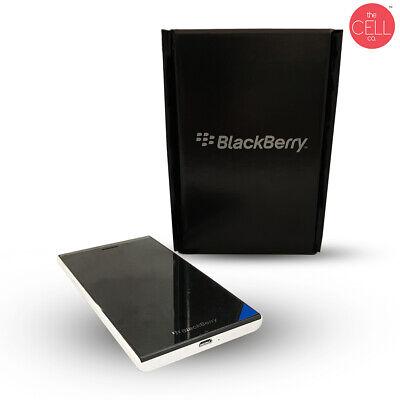 New Factory Unlocked BlackBerry Leap STR100-1 Smartphone 16 GB White Cell Phone
