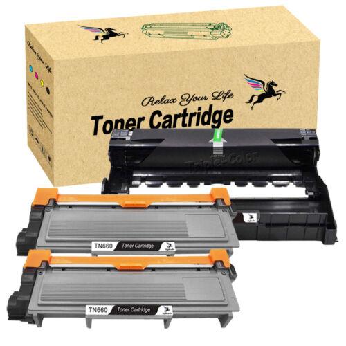 2 TN660 Toner + 1 DR630 Drum DR660