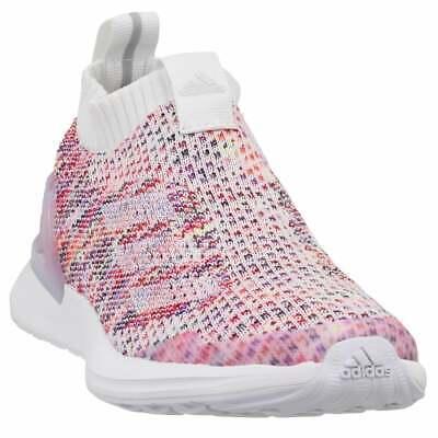 adidas Rapidarun Laceless Knit Sneakers Casual    - White - Girls