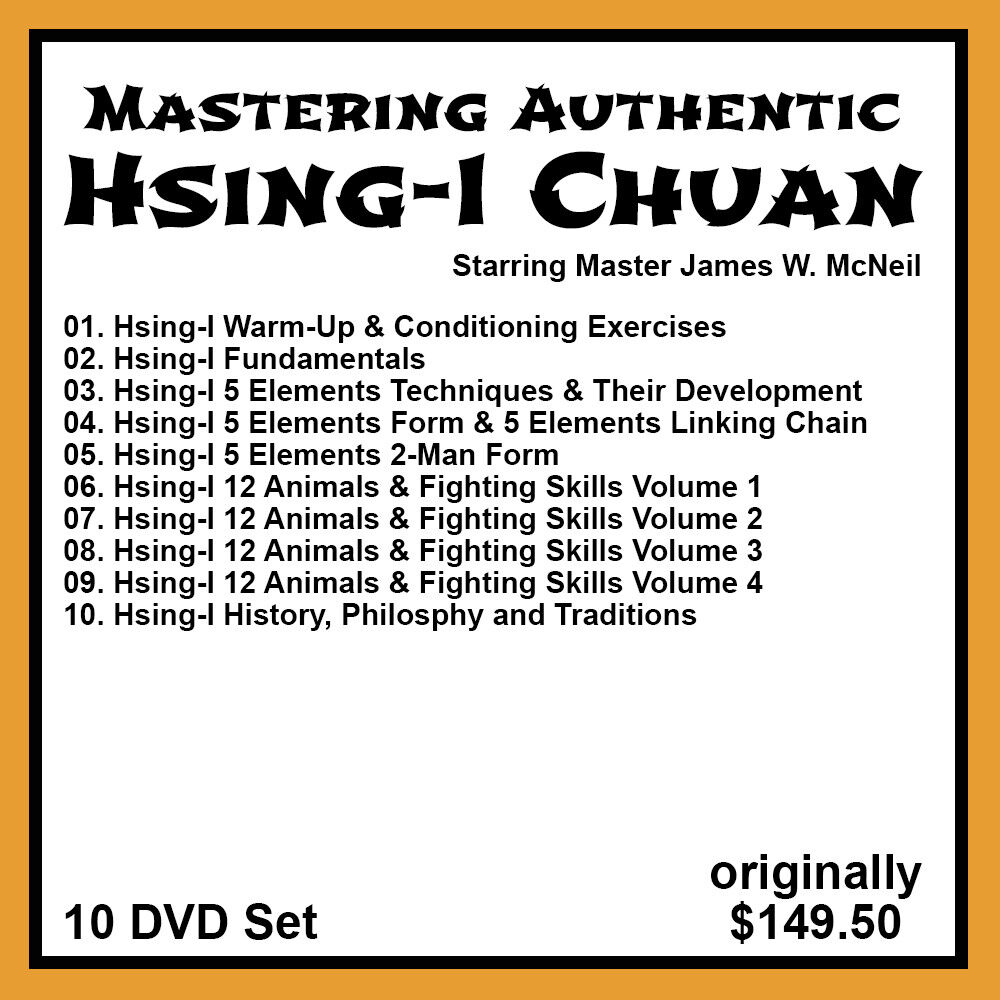 как выглядит James W. McNeils Hsing-I Chuan Series 10 DVD Set фото