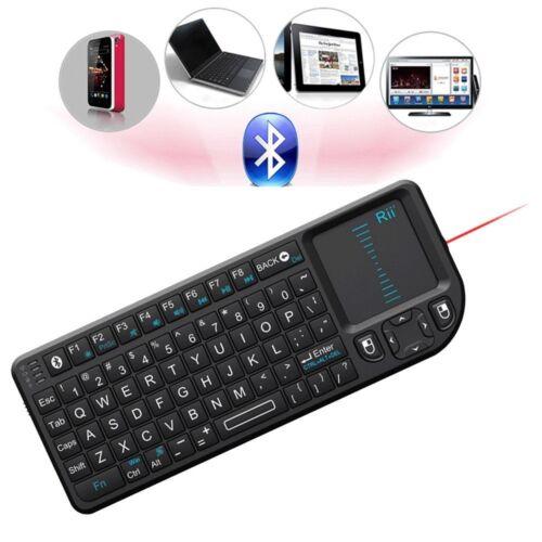 Rii Bluetooth Mini Wireless Led Backlight Keyboard + Touc...