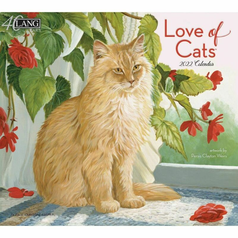 Lang Companies,  Love Of Cats 2022 Wall Calendar