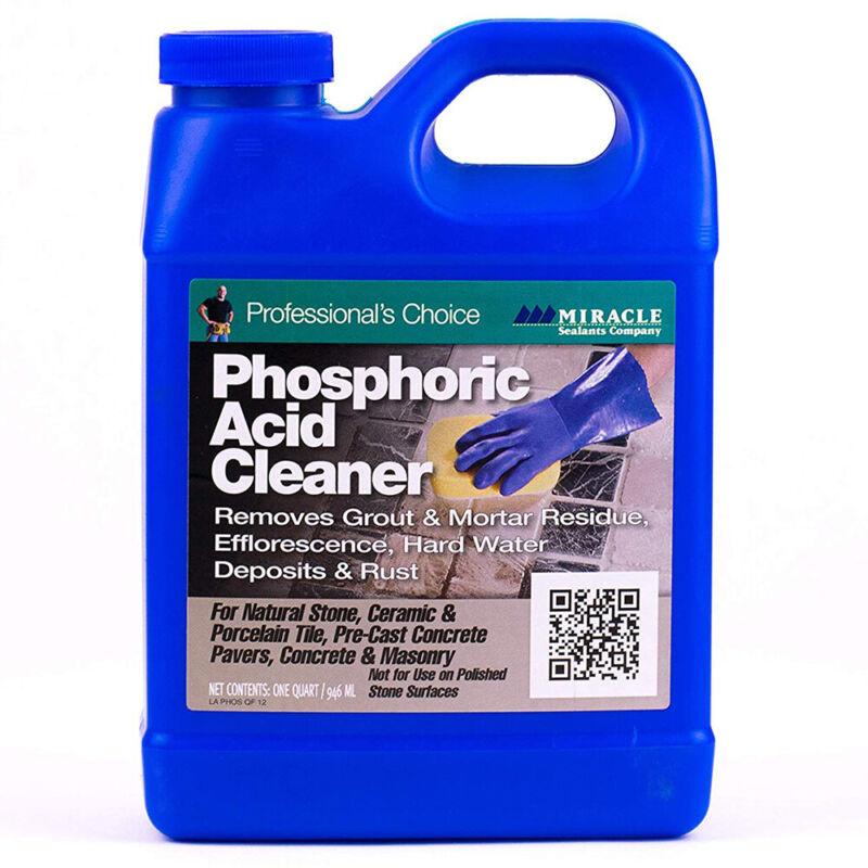 Miracle Sealants PHOSQT6 Phosphoric Acid Cleaners Quart
