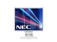 New NEC 17 inch LED Backlit Monitor - White