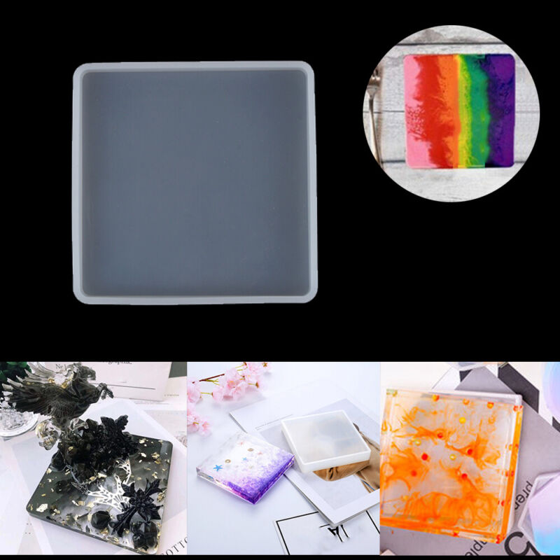 Silicone Epoxy Resin Casting Molds Jewelry Making Mould Coas