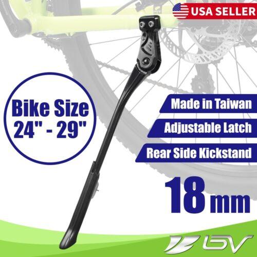 BV Rear Bike Kickstand Alloy Mountain Road Bike Side Stand Toolless Adjustable