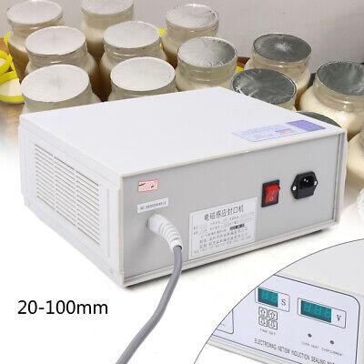 Electromagnetic Induction Sealer Sealing Machine Bottle Capper 20-100mm 110v Usa