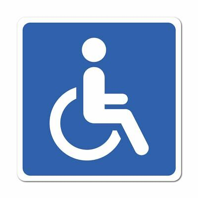 Disabled People Sticker Decal Window Sign Graphic Bin Car Safety