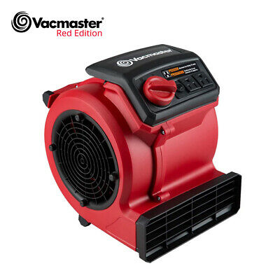 Vacmaster Air Mover Blower Fan Dryer Cooling Carpet Wall Floor Dryers 3-speed