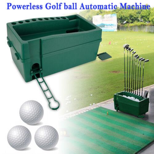 Automatic Golf Ball Pitching Machine Golfball Dispenser Powe