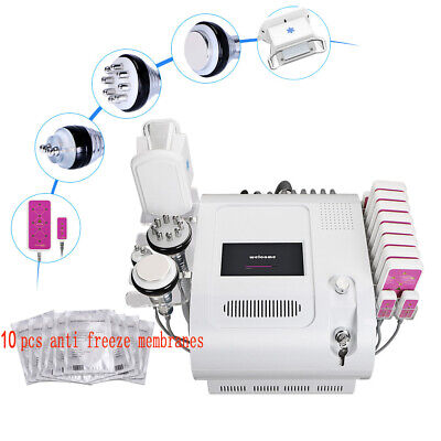 Freeze Fat 40k Cavitation Led Light Cold Phototherapy Lipolysis Vacuum Machine