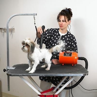 Metrovac Dog Dryer Air Force Commander Professional Portable Pet Grooming Dryer