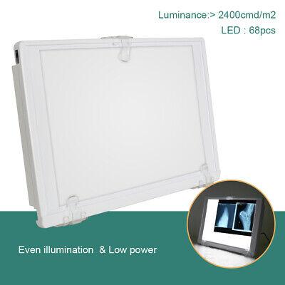 Fda Dental X-ray Film Illuminator Light Box X Ray Viewer A4 Panel Full View 12w