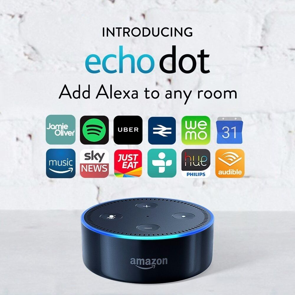 Amazon Echo Dot (UK version)
