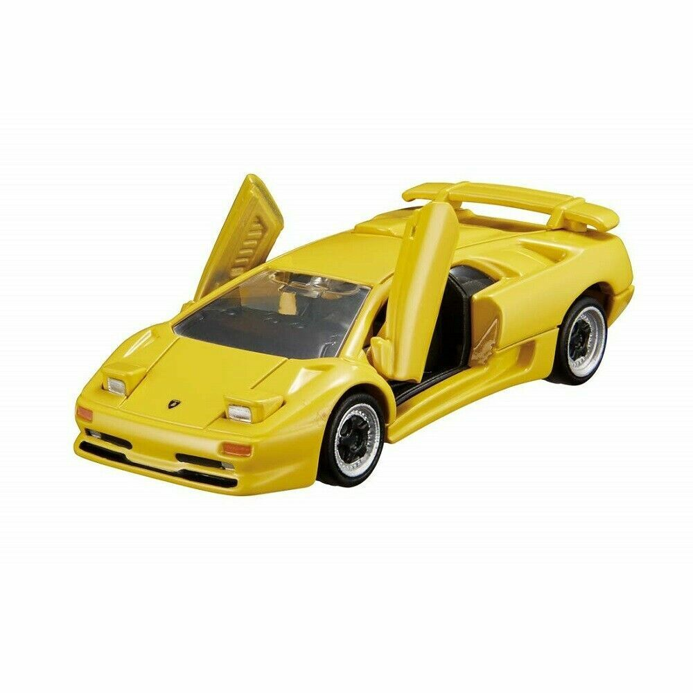 Takaratomy Tomica Premium 15 Lamborghini Diablo SV Yellow Motorcar